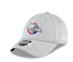 Baltimore Ravens Heather Gray 2020 NFL Crucial Catch Coaches Adjustable Hat