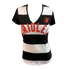 Baltimore Orioles Striped Women's T-Shirt