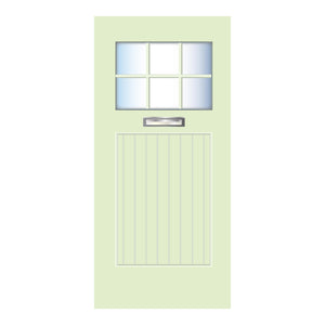 Beach Door Green