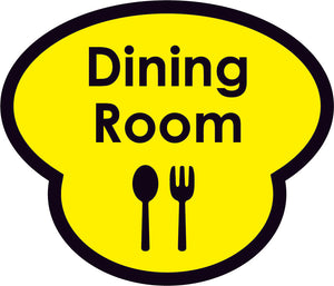 Dining Room Picture Sign