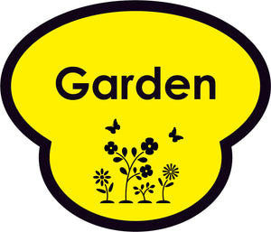 Garden Picture Sign