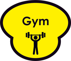 Gym Picture Sign