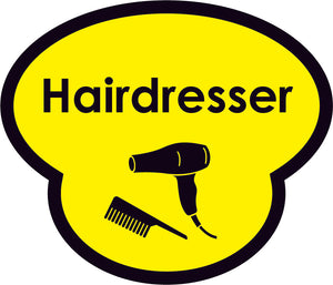 Hairdresser Picture Sign