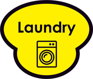 Laundry Picture Sign