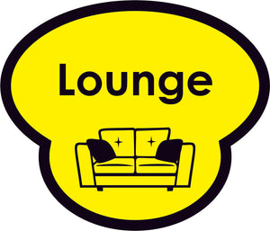 Lounge Picture Sign