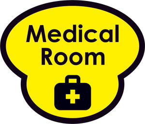 Medical Room Picture Sign