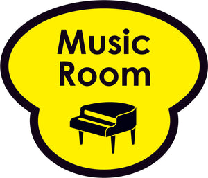 Music Room Picture Sign