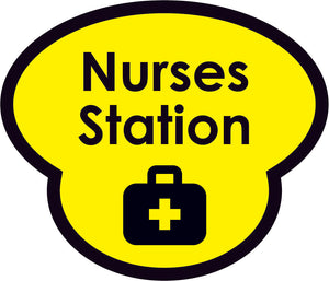 Nurses Station Picture Sign