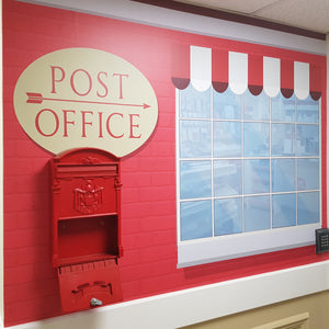 Post Office Wall Mural