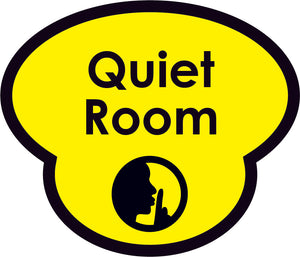 Quiet Room Picture Sign
