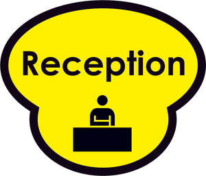 Reception Picture Sign