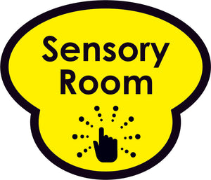 Sensory Room Picture Sign