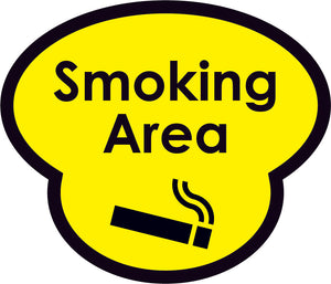 Smoking Area Picture Sign