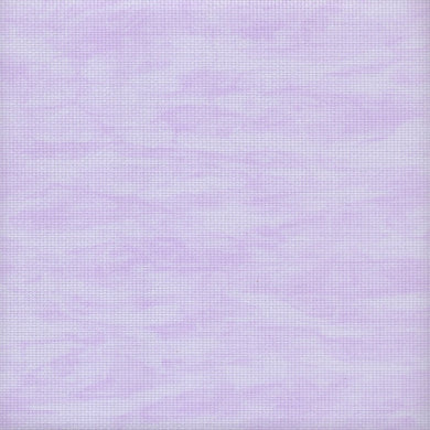 14 count Zweigart Aida Fabric Vintage Lilac size 49x54cm