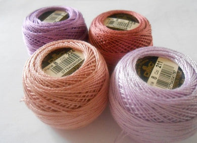 DMC Perle 8 Cotton Ball Colours 433 to 760