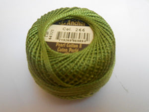 Anchor Perle 8 Cotton Ball - 239 - 375 - Tandem Cottage Needlework
