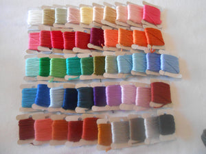 Anchor Stranded Cotton Threads 50 full skeins bobbins colours may vary