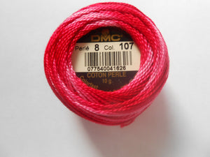 DMC Perle 8 Cotton Ball - Multicoloured
