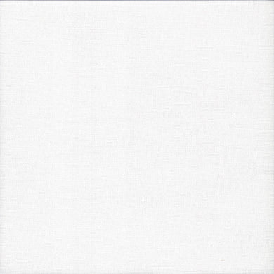 27 count Zweigart Evenweave Fabric Linda Antique White size 49 x 69cms