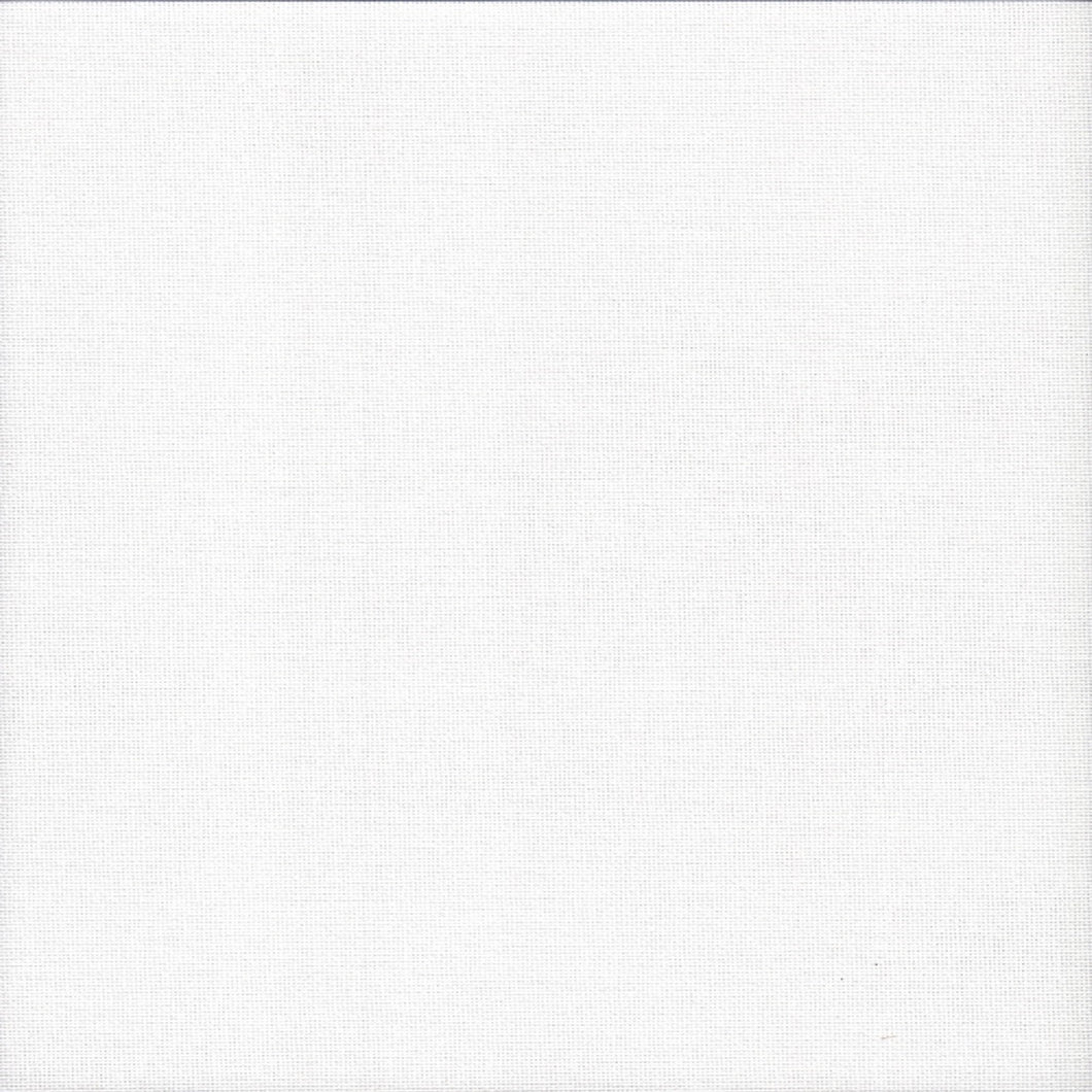27 Count Zweigart Linda  Evenweave Fabric White size 49 x 70cms - Tandem Cottage Needlework