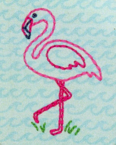"Embroidery Kit ""Flamingo Fun"" by Dimensions"