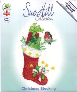 "Heritage Crafts Sue HIll ""Christmas Stocking"" Chart ONLY"