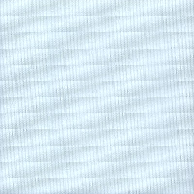 16 Count Zweigart Aida Fabric Ice Blue size 49x54cms