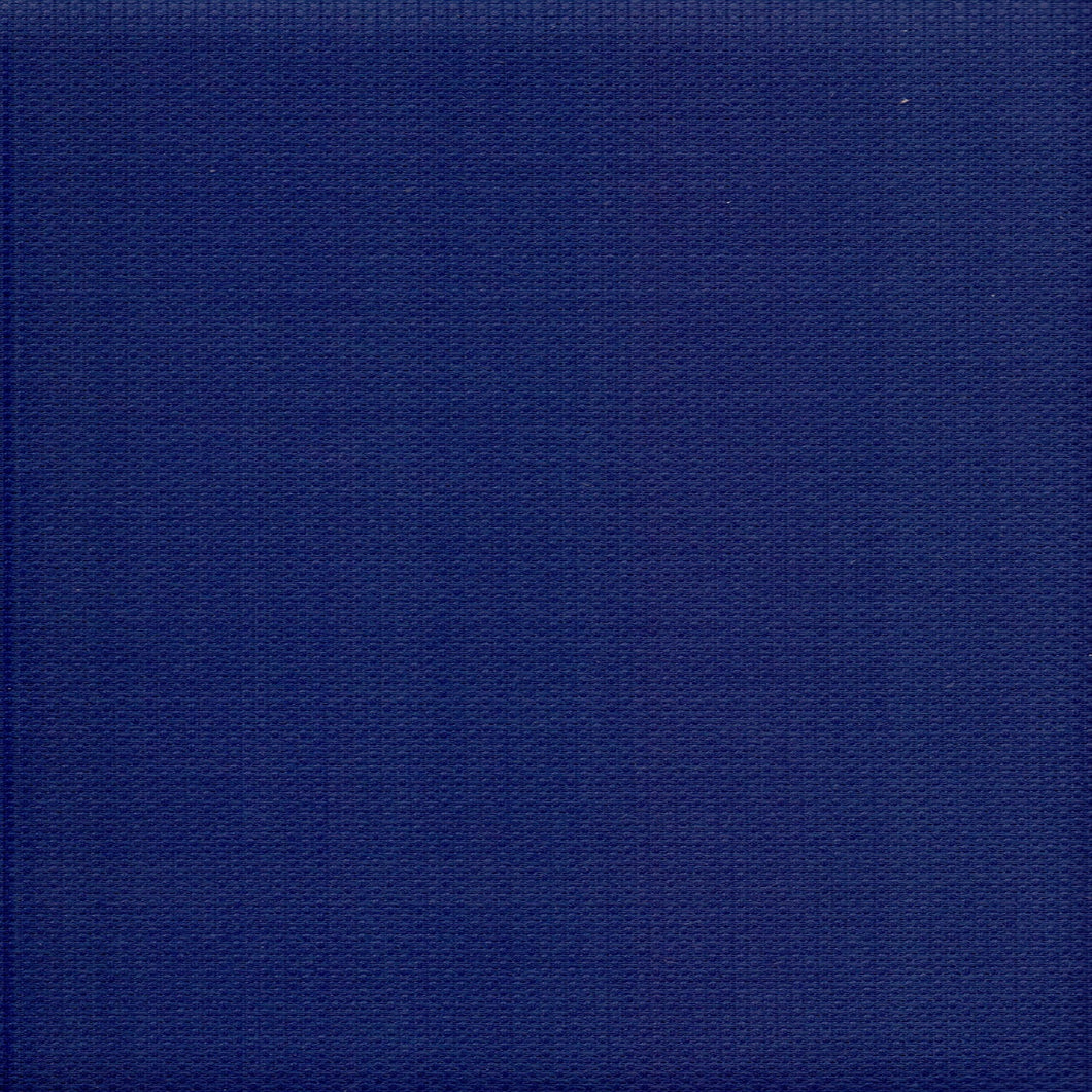 14 Count Zweigart Aida Fabric Navy Blue size 49 x 54 cms