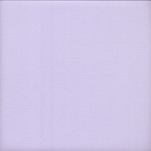 14 count Zweigart Aida Fabric Pastel Lilac size 49x54cm