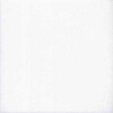 18 count Zweigart Aida Fabric White size 49x54cms