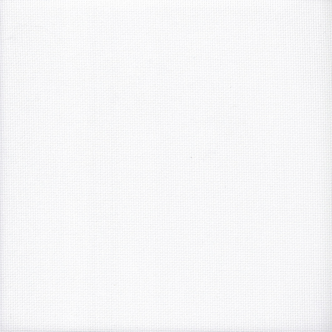 18 count Zweigart Aida Fabric White size 49x54cms - Tandem Cottage Needlework