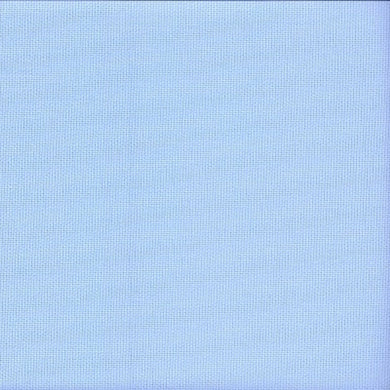 14 count Zweigart Aida Sky Blue Fabric size 49 x 54 cms