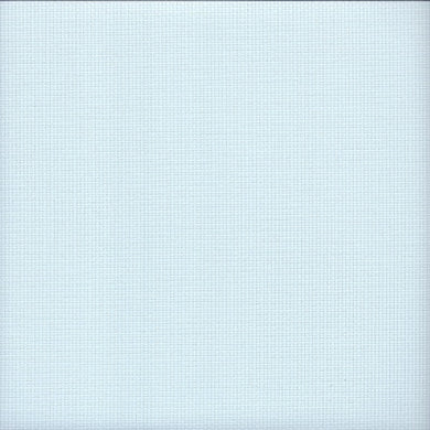 14 count Zweigart Aida Ice Blue Fabric size 49 x 54 cms - Tandem Cottage Needlework