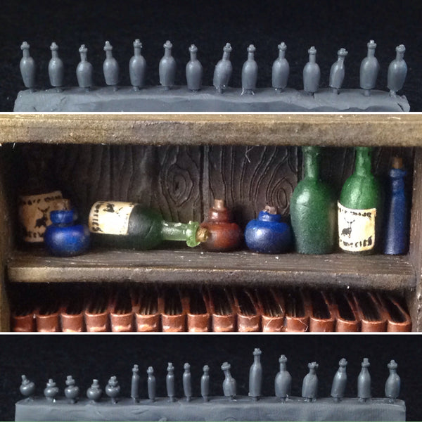 40 Miniature Bottles