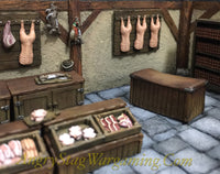 Butchers Shop Accessory Set