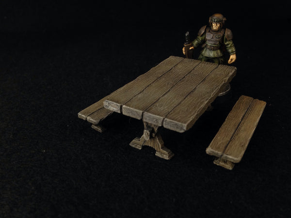 Table & Benches