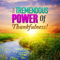 The Tremendous Power Of Thankfulness