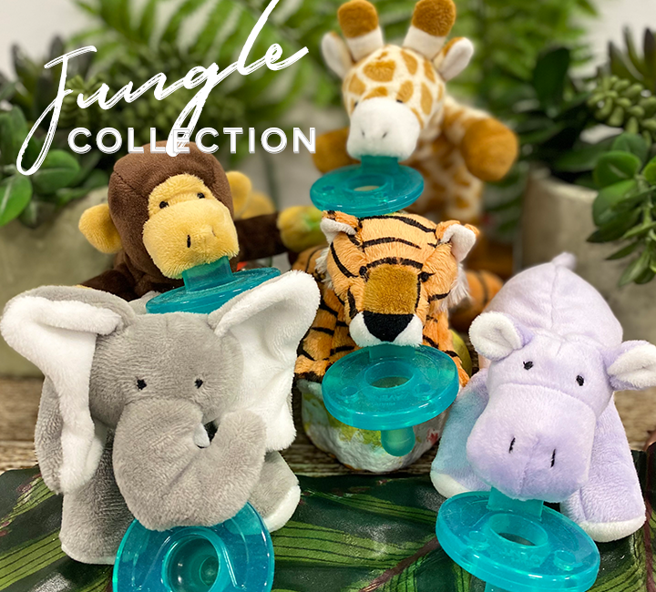 image of jungle collection including money elephant giraffe tiger and hippo in image