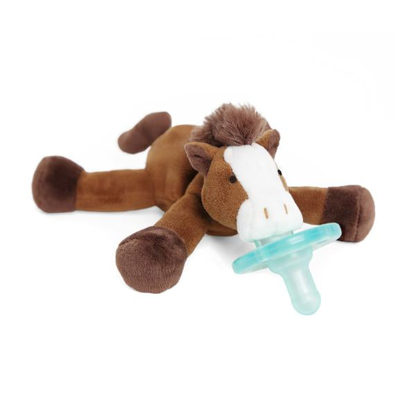 Homepage Products collection image is the WubbaNub Brown Horse