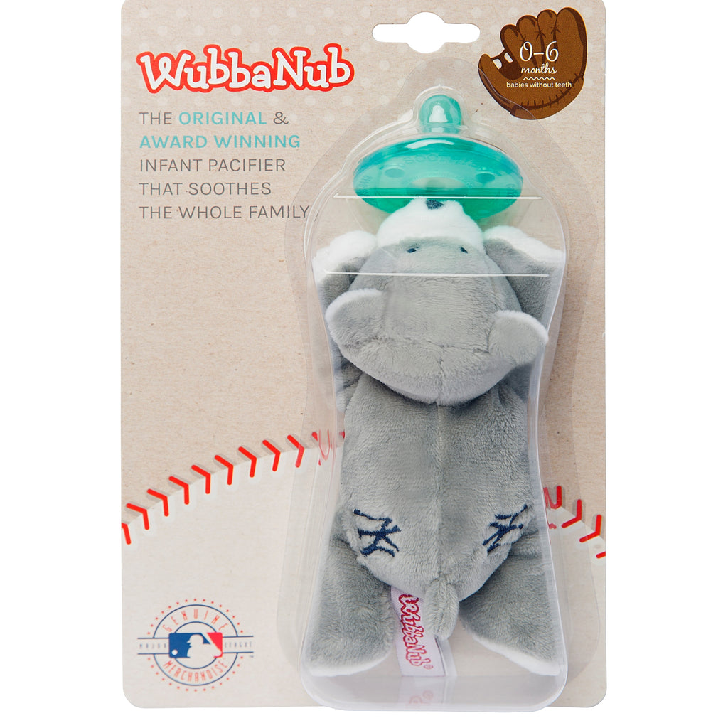 WubbaNub MLB styles are sold in a clamshell with backer card