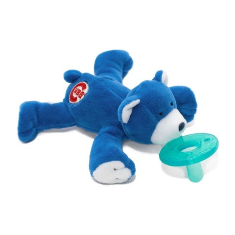 WubbaNub Infant Pacifier - Chicago Cubs™ Bear
