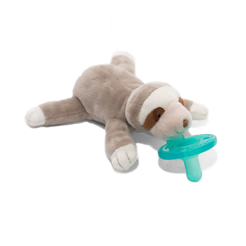 Baby Sloth WubbaNub is The Original Plush Pacifier for over 20 years.  WubbaNub is frequently searched on as wubanub wubbanubba wubanubba wabbanub wabanub passies paci binky animals lovey blankie girl boy calm Soothie soothing soother passafires passifires cute infant toy baby toy newborn essentials pacifier clip Philips Avent Snuggle Nookums Mary Meyers Target Walmart Sox Socks MLB Major League Baseball.