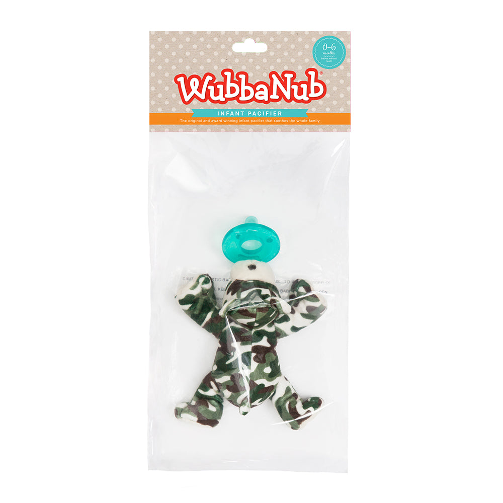 WubbaNub is The Original Plush Pacifier for over 20 years. WubbaNub pacifiers sold online are sold in a polybag with header card. Edit alt text