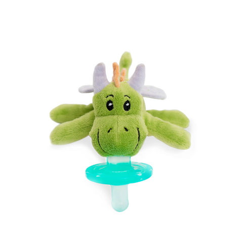 WubbaNub Infant Pacifier - Green Fairytale Dragon