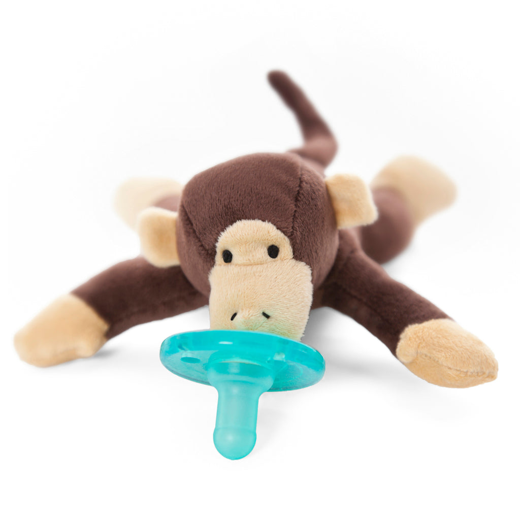 WubbaNub Brown Monkey with tan accents