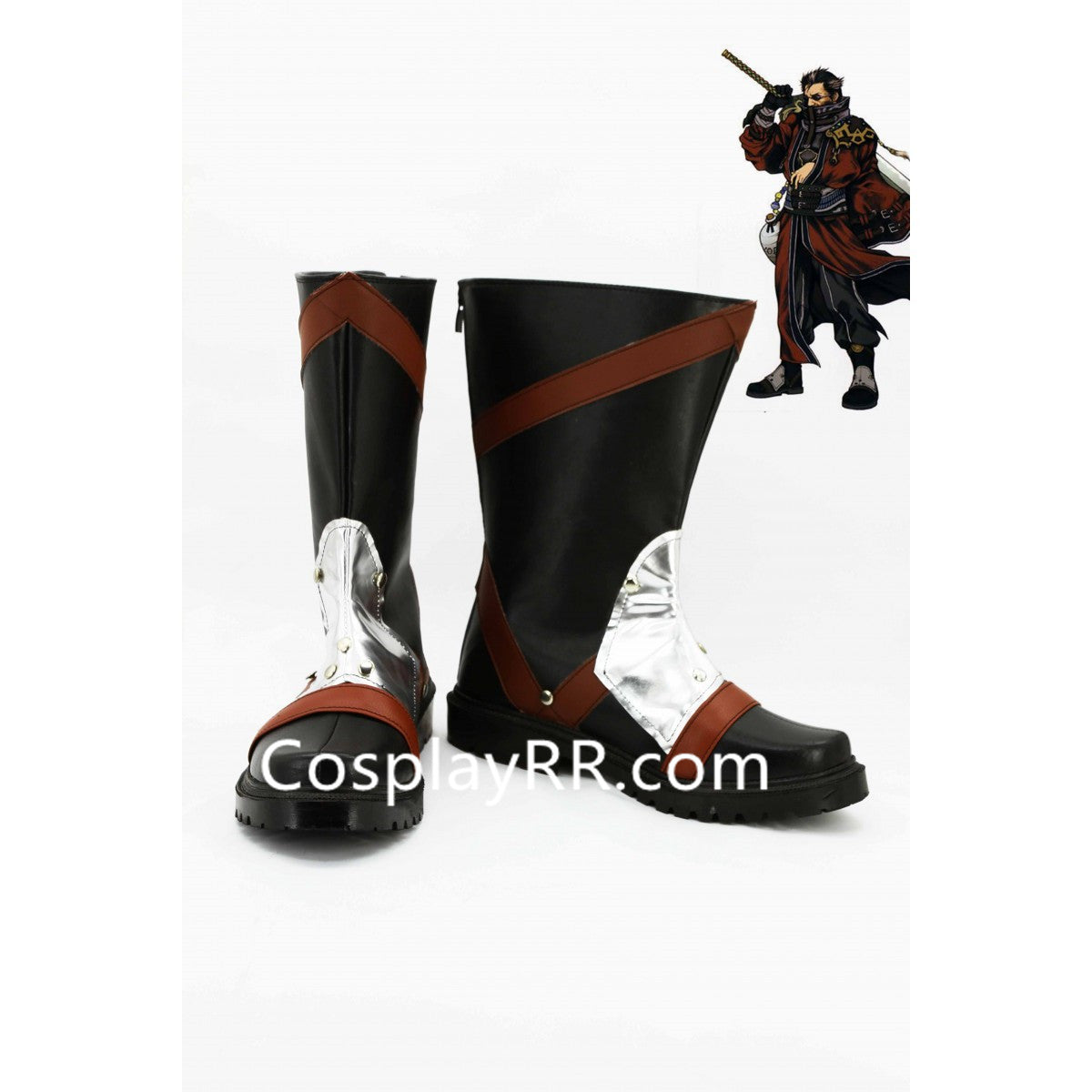 FF10 Auron Cosplay Shoes