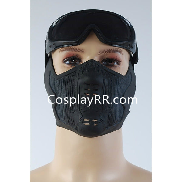 Captain America Winter Soldier Mask and Goggles