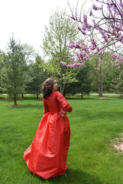 18th Centur Maria Reynolds Dress Maria Reynolds Gown