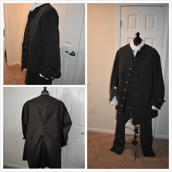 18th Century Men's Jacket Scottish Historical Jacket