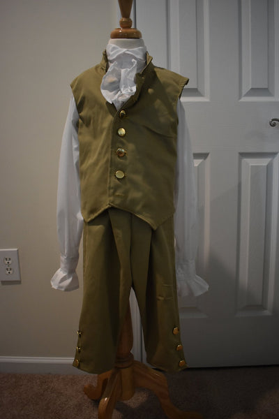 18th Century Military Reenactment Costume Hamilton George Washington Jacket
